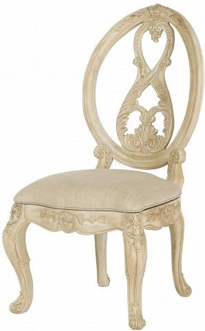 Jessica Mcclintock Boutique White Veil Side Chair
