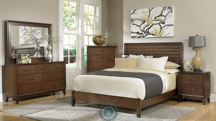 Oliver Panel Bedroom Set