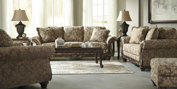 Irwindale Topaz Living Room Set