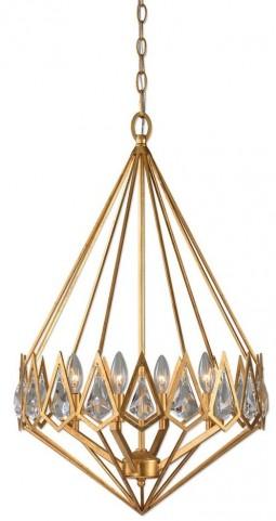 Eclatant 4 Light Gold Diamond Pendant