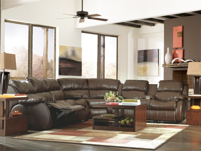 Mollifield DuraBlend Cafe Reclining Sectional