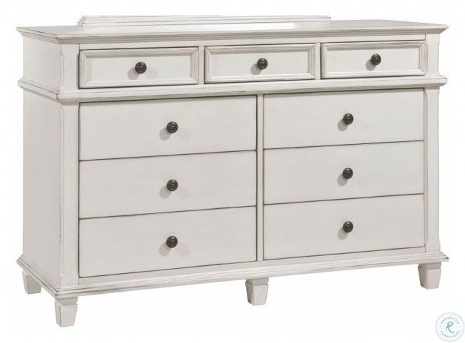 Carolina Antique White Dresser