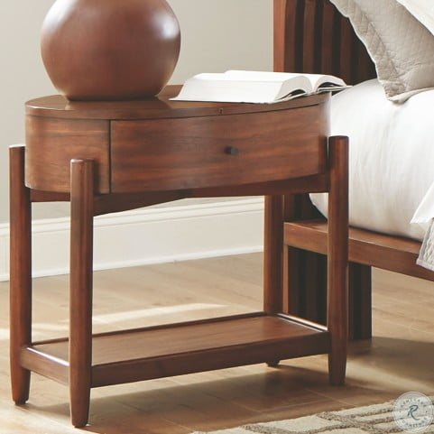 Amazing San Mateo Desert Teak Nightstand Dailytribune Chair Design For Home Dailytribuneorg