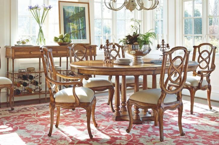 Arrondissement Sunlight Anigre Tour Marais Extendable Dining Room Set