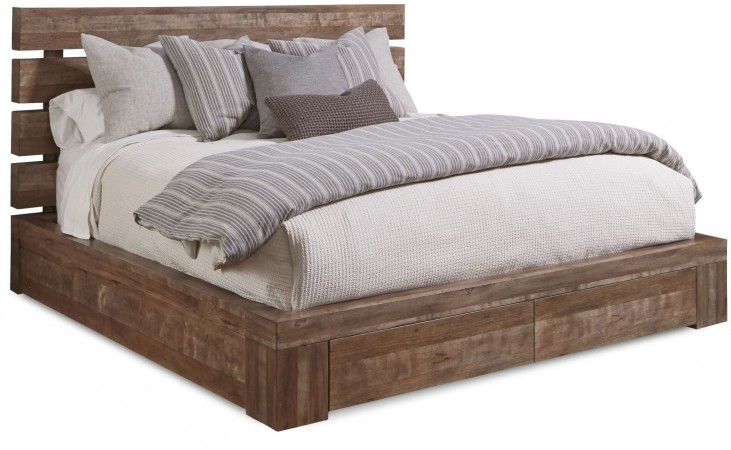 Epicenters Williamsburg Cal. King Platform Storage Bed