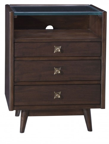 Epicenters Silver Lake 3 Drawer Nightstand