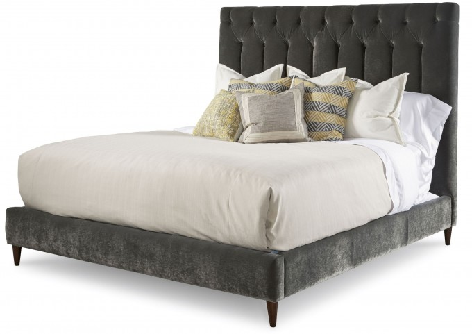 Epicenters Silver Lake Queen Upholstered Platform Bed