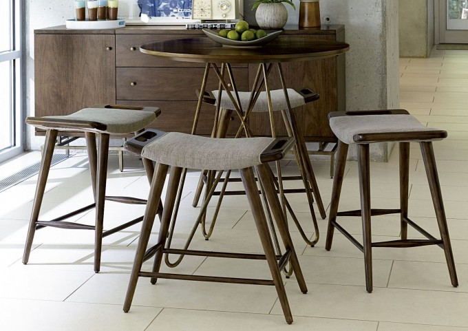 Epicenters Williamsburg Slat Occasional Table Set