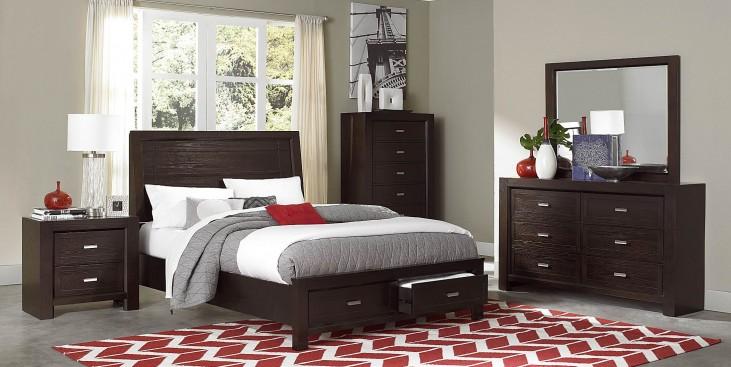 Breese Platform Storage Bedroom Set