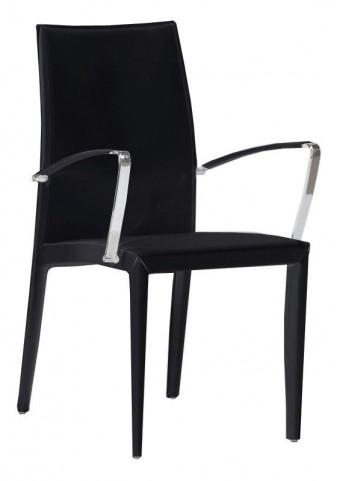224A Black Arm Chair