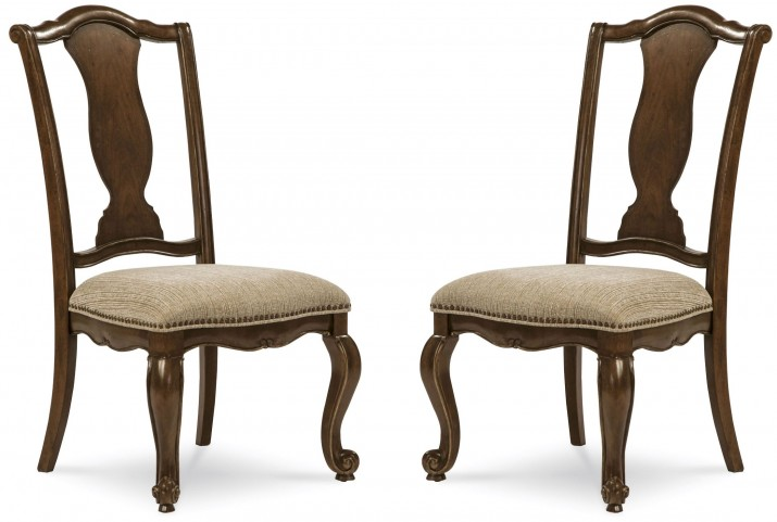 La Viera Splat Back Side Chair Set of 2