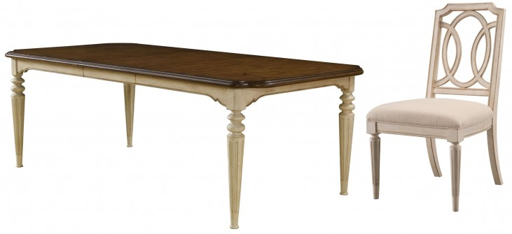 Provenance Rectangular Extendable Dining Room Set
