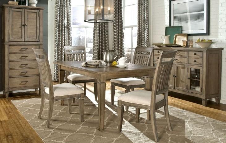 Brownstone Village Leg Extendable Dining Room Set