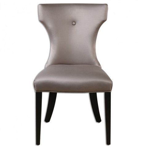 Wynter Satin Armless Chair