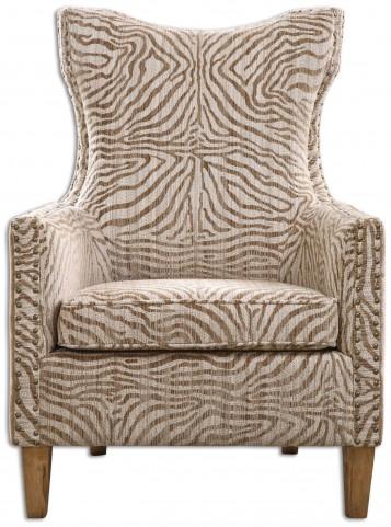 Kiango Animal Pattern Armchair