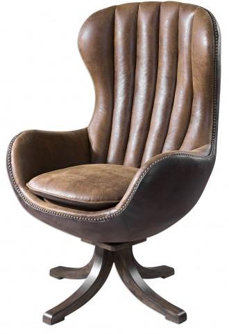 Garrett Mid-century Swivel Chair