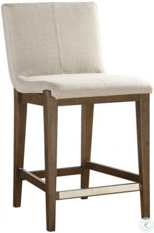 Tremendous Klemens Linen Counter Stool Gamerscity Chair Design For Home Gamerscityorg