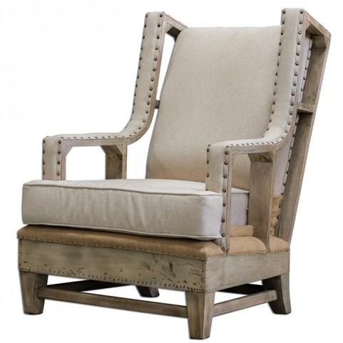 Schafer Linen Armchair