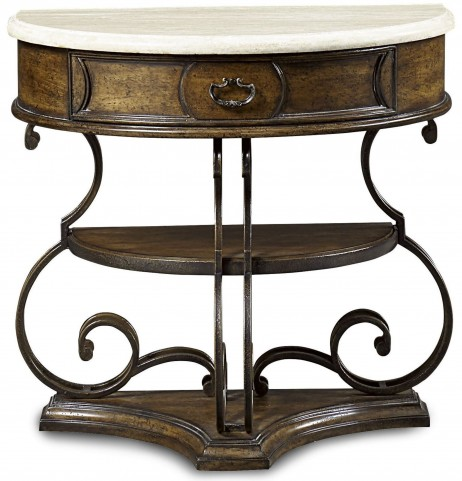 Continental Weathered Nutmeg Glazed Nightstand