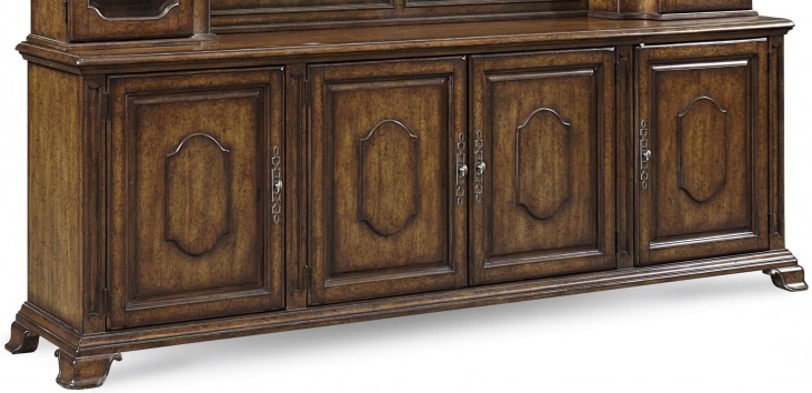 Continental Weathered Nutmeg Entertainment Console