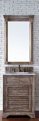 "Savannah 26"" Driftwood Single 2CM Top Vanity Set"