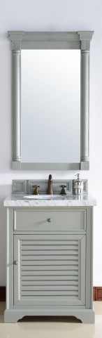 "Savannah 26"" Urban Gray Single 4CM Top Vanity Set"