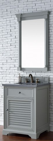 "Savannah 26"" Urban Gray Single 3CM Top Vanity Set"