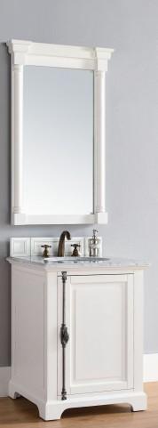 "Providence 26"" Cottage White Single 2Cm Top Vanity"