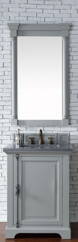 "Providence 26"" Urban Gray Single 3CM Top Vanity Set"