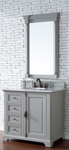 "Providence 36"" Urban Gray Single 2Cm Top Vanity"
