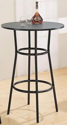 Satin Black Bar Table 2383