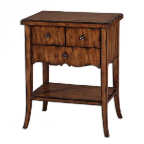 Carmel Wood End Table