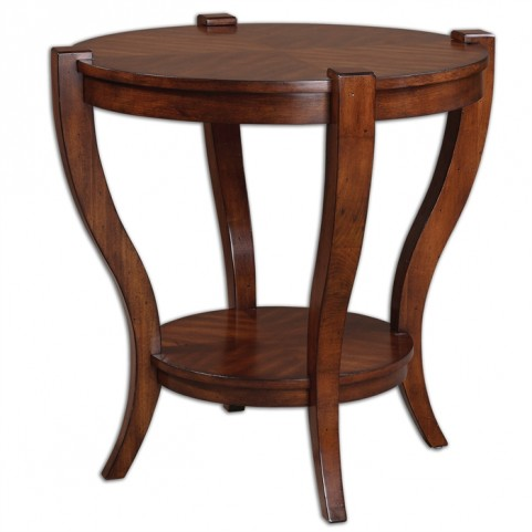 Bergman Round End Table