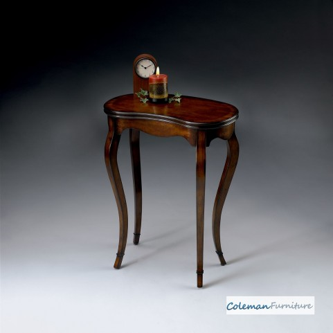 Plantation Cherry Kidney-Shaped Table