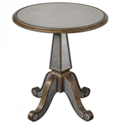 Eraman Mirrored Accent Table