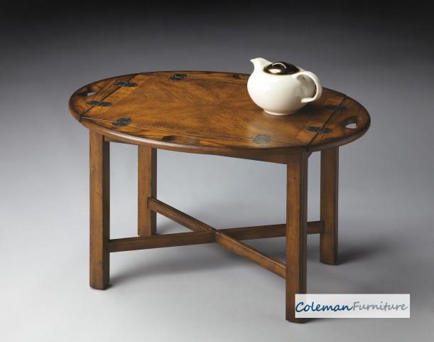 Vintage Oak Butler Table