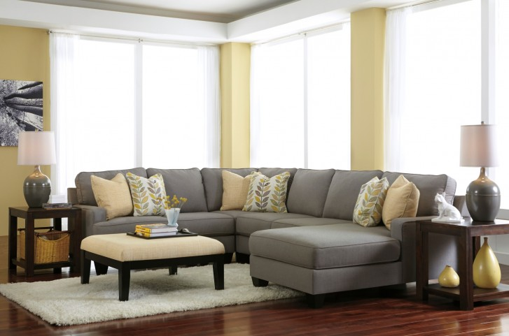 Chamberly Alloy RAF Chaise Sectional