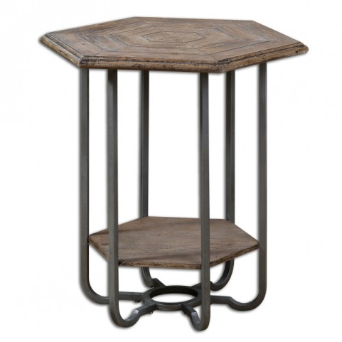 Mayson Wooden Accent Table