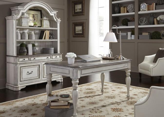 Magnolia Manor Antique White Home Office Set