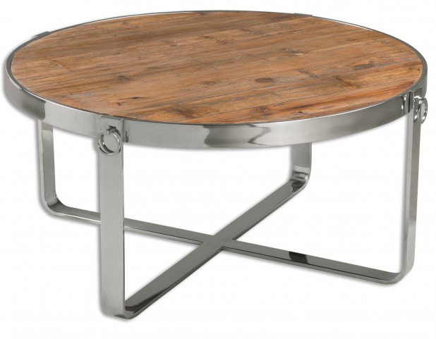 Berdine Wooden Coffee Table