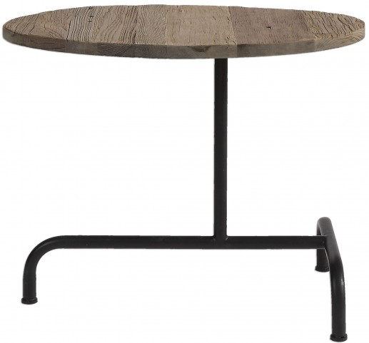 Martez Industrial Accent Table