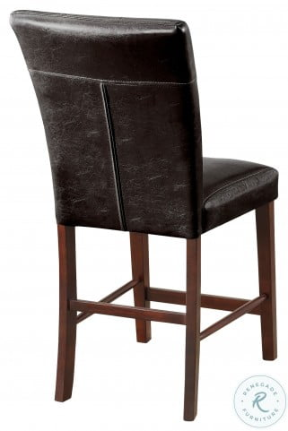 Decatur Espresso Counter Height Chair Set of 2