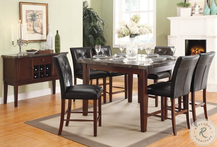 Decatur Espresso Counter Height Dining Table