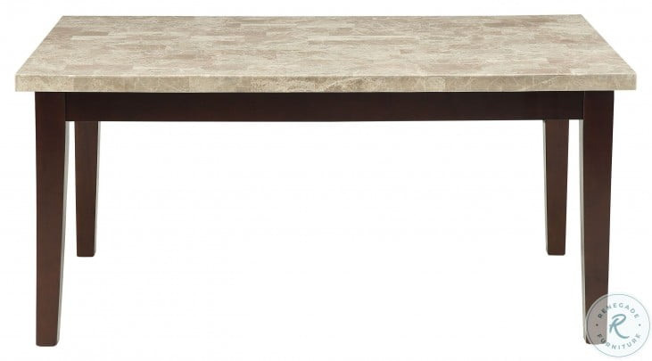 Decatur Brown Dining Table From Homelegance Coleman Furniture