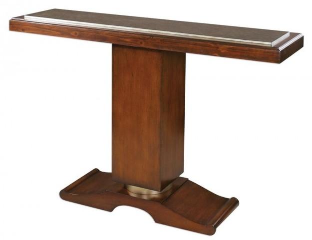 Taniel Pedestal Console Table
