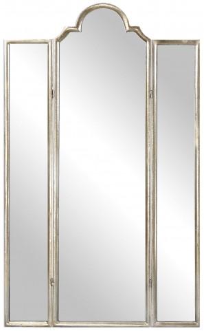Neema Three Paneled Mirror Screen