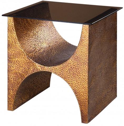 Rafaele Copper Accent Table