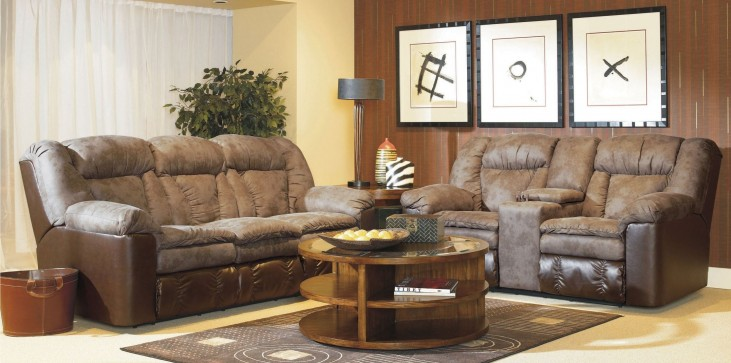 Talon Sahara Sand Living Room Set