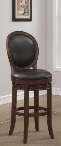 "B2-250-30L 30"" Wood Frame Back Bar Stool"