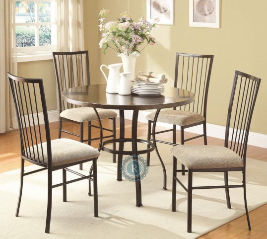 Carlson 5-Piece Pack Dinette Set